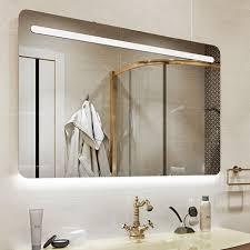 Навесное <b>зеркало</b> в <b>ванную</b> комнату <b>MODERN</b> 120 см с подсветкой