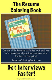 17 best images about your job search strategy learn the easiest way to write your resume the resume coloring book online course