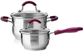 <b>Набор посуды</b> для приготовления, <b>4 пр</b>., Optimale, Es ...