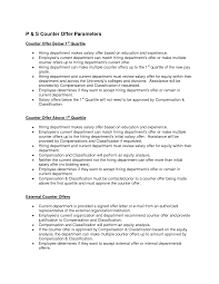 best photos of counter proposal template job offer counter counter offer letter example