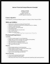 financial analyst resume sample   alexa resume    financial analyst resume samples