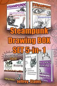 <b>Steampunk</b> Drawing <b>Box</b> Set 5-in-<b>1</b>: <b>Steampunk</b> Drawing 2 books ...