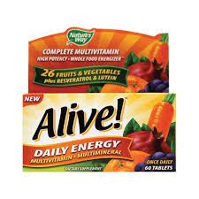 <b>Alive</b>! <b>Daily Energy</b> Multivitamin Reviews 2020