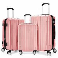 Light Weight <b>Stylish</b> Design Hard Shell <b>3 Piece</b> Suitcase/Luggage ...