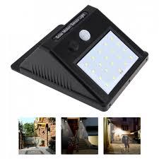 Beleuchtung <b>Solar</b> Powered <b>8</b>-<b>LED</b> PIR Motion Sensor <b>Outdoor</b> Wall ...
