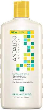 Andalou Naturals <b>Brilliant Shine Shampoo</b>, Sunflower and Citrus ...
