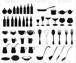 kitchen utensil:  kitchen utensils vector stock vector