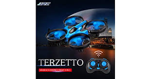 <b>JJRC</b> H36F TERZETTO <b>3</b> in <b>1</b> Drone Boat Car Water Mode Ground ...