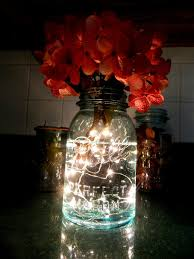 fireflies in a mason jar led battery operated lighted vintage blue mason jarlights blue mason jar string lights