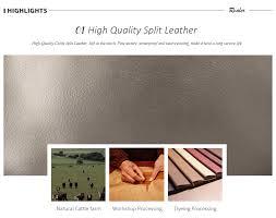 REALER Brand <b>fashion women</b> backpack <b>high quality</b> split leather ...
