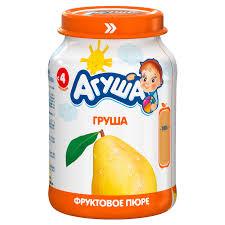 <b>Агуша Пюре фруктовое</b> груша 200г 69288