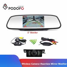 Podofo <b>CCD HD</b> Waterproof Parking Monitors System, 4 LED <b>Night</b> ...
