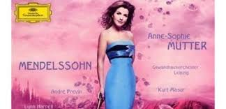CD of the week: <b>Anne</b>-<b>Sophie Mutter</b> plays <b>Mendelssohn</b> - Classic FM