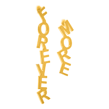 <b>Позолоченные серьги</b> Forever more - купить за 5 700 руб. в ...