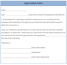 template for appreciation letter template template for appreciation letter