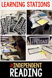 ideas about high school reading on pinterest  best high  learning stations for independent reading use learning stations in middle and high school english when students are reading their own novels
