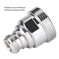 10 pieces l29 7 16 din female jack center 4 hole flange solder rf coax connector adapter