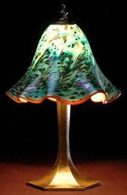 blown glass lamp shades artisan blown glass lamps