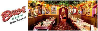 Image result for Buca di Beppo Italian Restaurant
