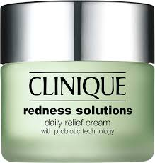 <b>Clinique Redness Solutions</b> Daily Relief Cream With Probiotic ...
