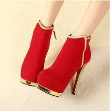 احذية حمراء بكعب عالي images?q=tbn:ANd9GcT
