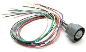 harness tat auto & transmission repair online parts store 4l80e External Wiring Harness harness, wiring, external, snap type, 3 prong square, 4l80e, gm (91 03) 4l80e external wiring harness kit