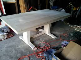 Dining Room Tables Plans Table Trestle Tablejpg Trestle Dining Table Plans 3 Table Trestle
