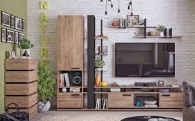 Модульная мебель для <b>гостиной</b> «<b>Nature</b>» купить недорого в ...