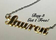 <b>Personalized Name Necklace</b> for sale | eBay