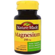 Nature Made, <b>Магний</b>, <b>250 мг</b>, <b>100 таблеток</b>, цена 189 грн., купить ...