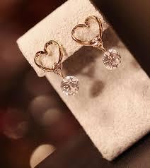 <b>Серьги</b> пусеты с кристаллами циркония, элегантные женские ...