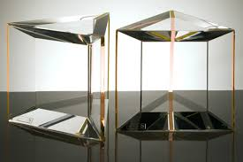trillion acrylic side table alexandra furniture