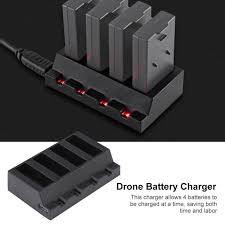 Зарядное устройство 4 в 1 порт мини RC Drone горючего ...