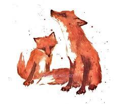 Fox, Nursery FOX Print, Little Brother Gift, fox art, fantastic <b>mr fox</b> ...