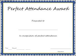 certificate of school attendance template resume builder certificate of school attendance template certificate of achievement perfect attendance perfect attendance award certificate template sample