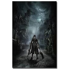 <b>Bloodborne Art Silk</b> Fabric Poster Print 13x20 24x36inch Game ...