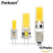<b>10PCS</b>/<b>lot COB LED Lamp</b> G4 G9 E14 LED Lamp Bulb AC/DC 12V ...