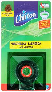 таблетка чистящая для унитаза chirton горная свежесть 2 шт х 50 г