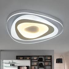 <b>Ultrathin Surface Mounted Triangle</b> Modern led ceiling lights lamp ...