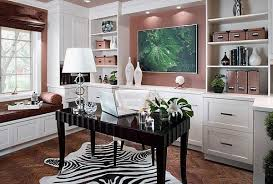 artwork and rugs add style to the feminine home office add home office