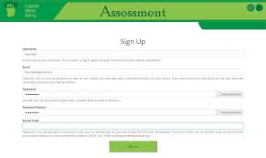 project online assessment