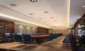 awesome office conference room design with armchair and long table also good ceiling lights awesome office conference room