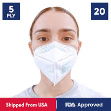 KN95 <b>Disposable Face Mask</b> - 20 Masks | FDA Certified – CUFY.COM