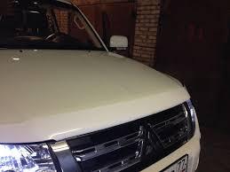 <b>Дефлектор</b>, <b>отбойник</b> — Mitsubishi Pajero, 3.0 liter, 2013 year on ...