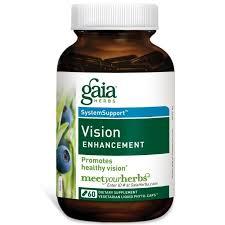 Gaia Herbs, <b>Healthy Vision</b>, <b>60 Vegan</b> Liquid Phyto-Caps | Капсула