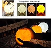 <b>880ML Air Humidifier</b> 3D Moon Lamp Light USB Ultrasonic ...