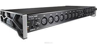 <b>Tascam US</b>-<b>16x08</b>, Black <b>аудиоинтерфейс</b> — купить в интернет ...