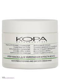 <b>Крем</b>-<b>маска для укрепления</b> и роста волос 300 мл КОРА 2896636 ...