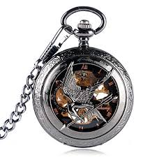 Hunger Games Patterned Mens Hand-Wind <b>Automatic Mechanical</b> ...