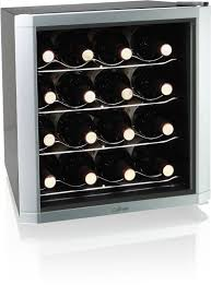 amazoncom culinair aw162s thermoelectric 16 bottle wine cooler silverblack kitchen small appliance accessories kitchen dining box version modern wine cellar furniture